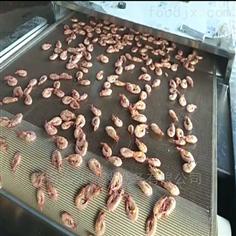 对虾烘烤杀菌微波设备