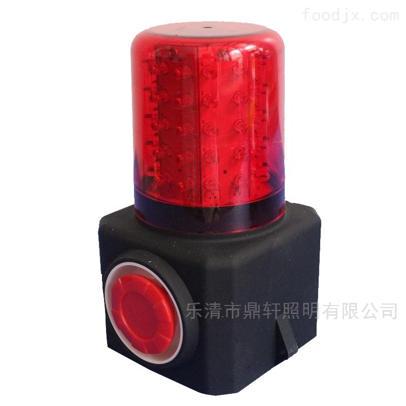 LED红色多功能声光报警器工程抢险信号灯