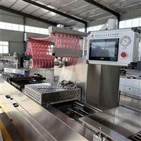 热销拉伸膜真空包装机高效率送模具