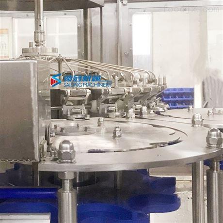 纯净水瓶装水三合一不锈钢灌装机