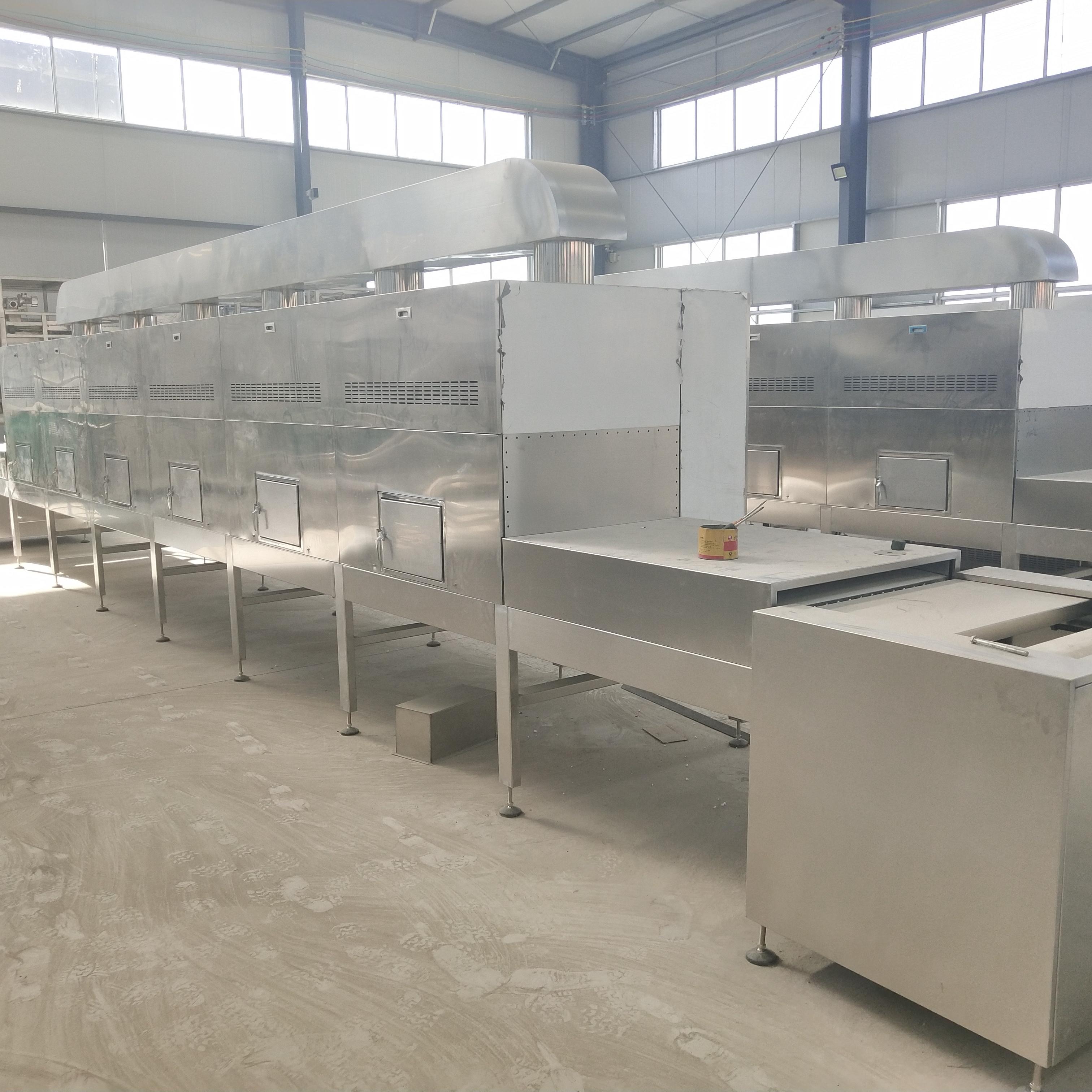 对虾烘烤熟化设备, 虾 烘烤 熟化机器