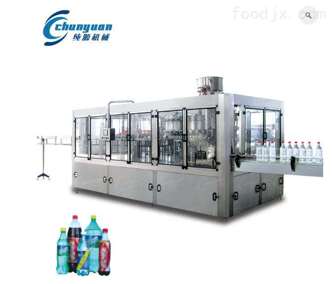 功能饮料三合一生产线多功能果汁灌装机