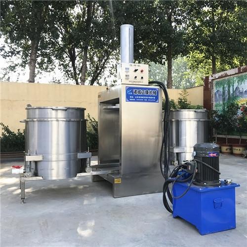 双桶循环50吨压力果蔬液压压榨机