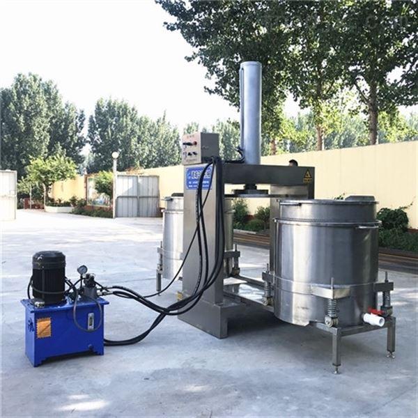 液压式全自动蔬菜挤水机