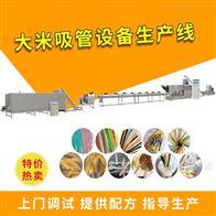 DLG100环保型可完全降解大米吸管生产线设备
