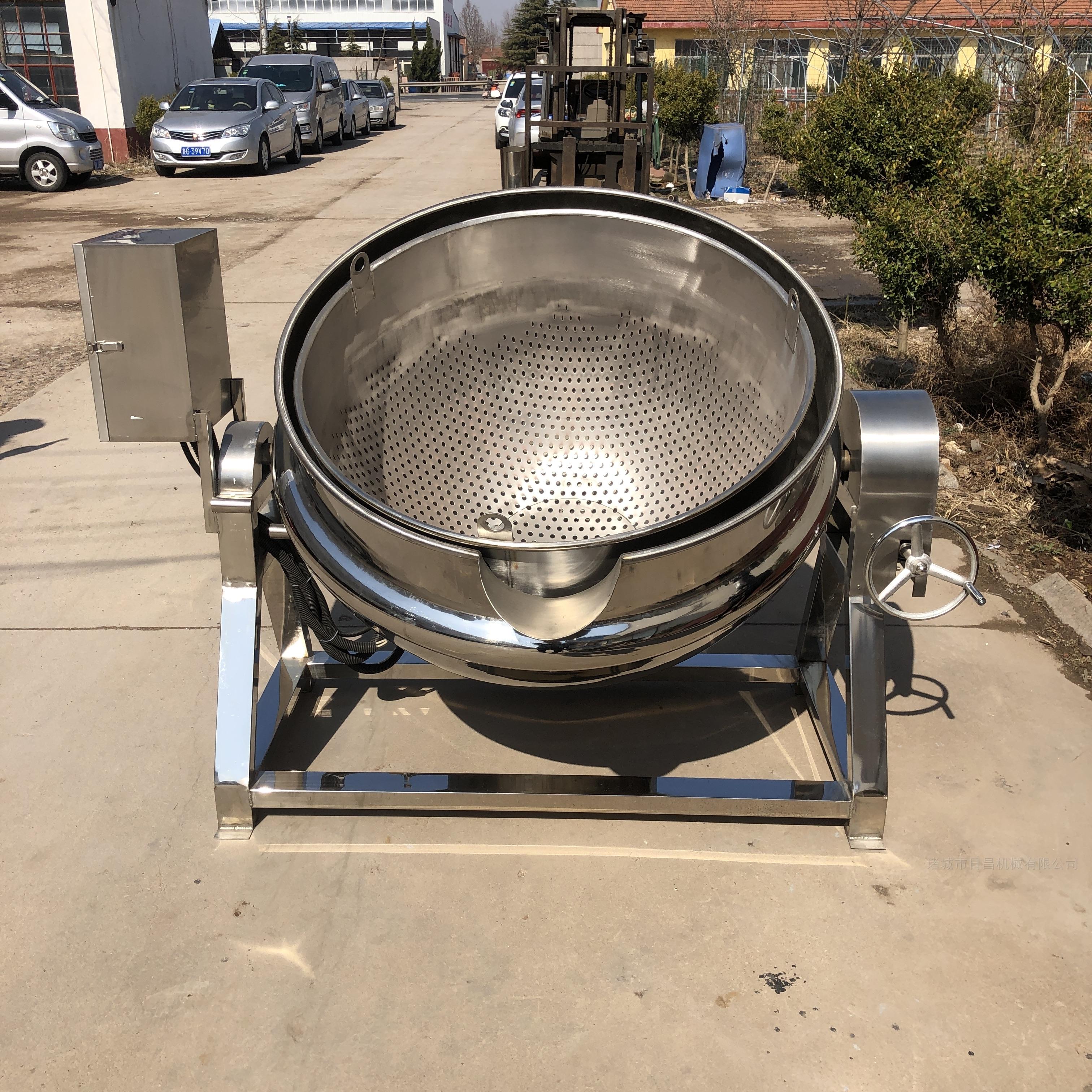 日昌厂家直销燃气蒸汽夹层锅