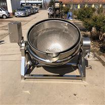 不锈钢可倾斜式火锅酱料搅拌蒸煮夹层锅