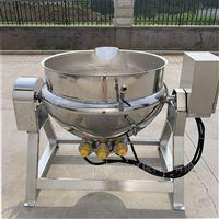 400L豆浆蒸煮锅   电加热可倾夹层锅