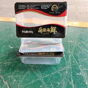 日式叉烧充氮气锁鲜盒式包装机