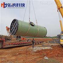 上海玻璃钢一体化预制泵站的作用