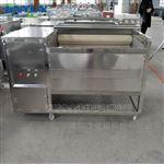 JY-1500全自动火龙果 芋头 红薯毛辊清洗机
