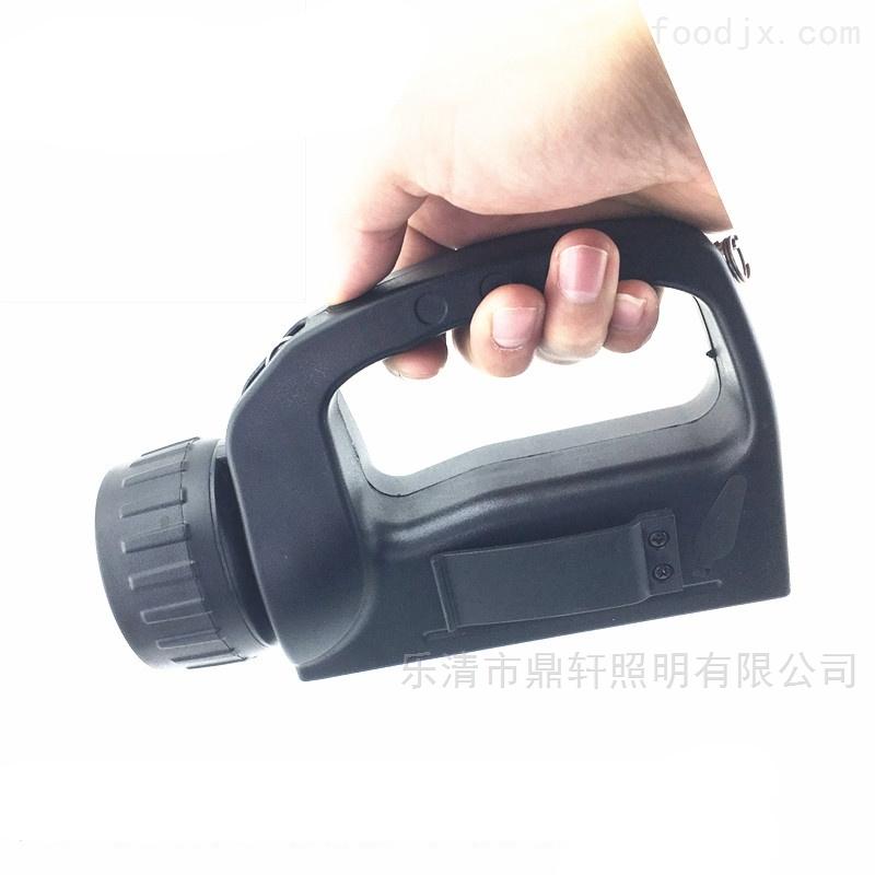 鼎轩照明3W手提式强光巡检工作灯电量显示