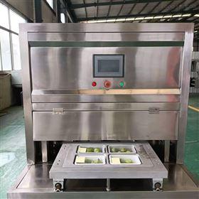 菠萝味蛋糕盒式气调包装机