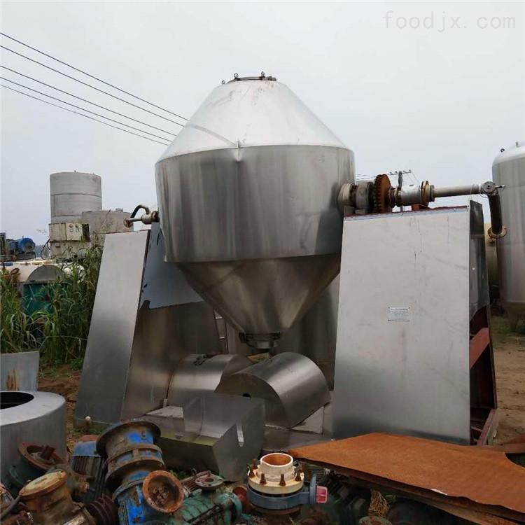 二手3000升不锈钢双锥干燥机