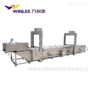 WLYZZ-6000全自动提升式鸡爪鸭脖蒸煮机