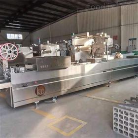 DZR-420豆制品拉伸膜真空包装机