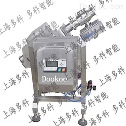 多科肉酱果酱液体管道泵压式金属检测机