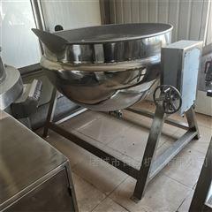 RC500L全自动燃气加热立式卤煮夹层锅搅拌行星炒锅
