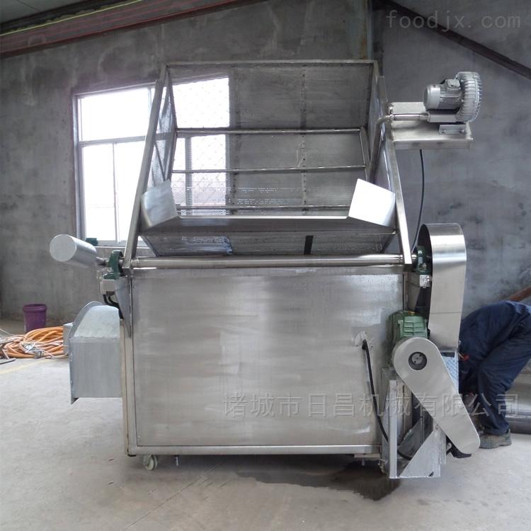 全自动电加热油炸锅油水分离温控节能油炸机