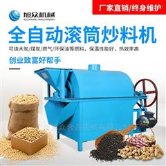 XZ-C50商用食品油加工油料花生电动滚筒式炒料机
