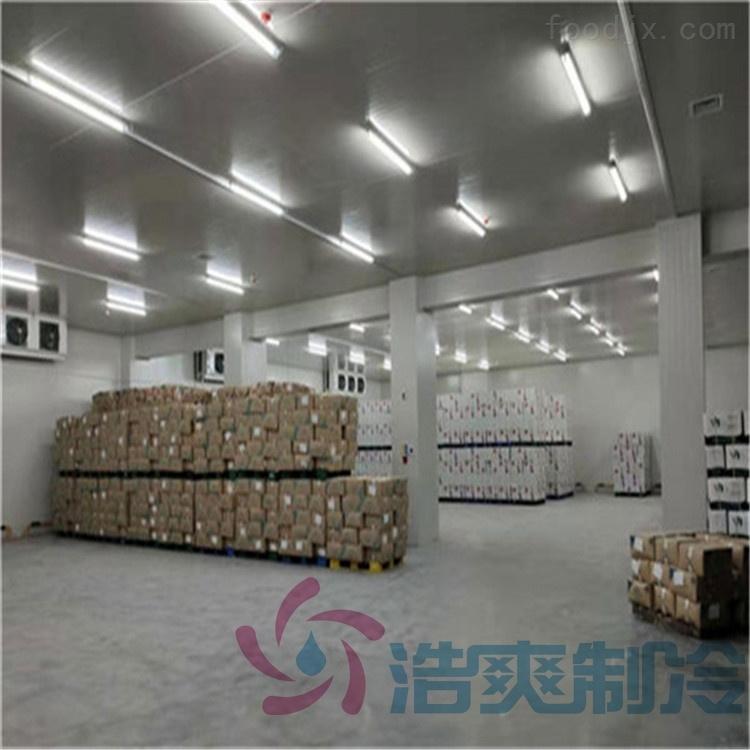 建设1200平米食堂低温冷库定制费用多少钱?