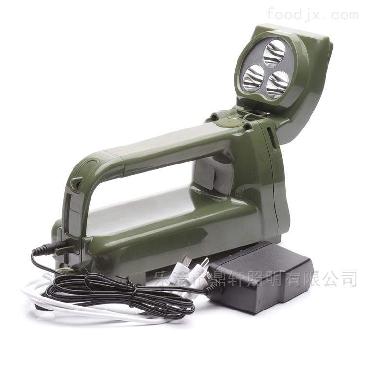 班用手摇充电强光搜索灯9W磁吸探照灯价格