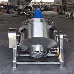 RC500L全自动搅拌式可倾式夹层锅生产厂家