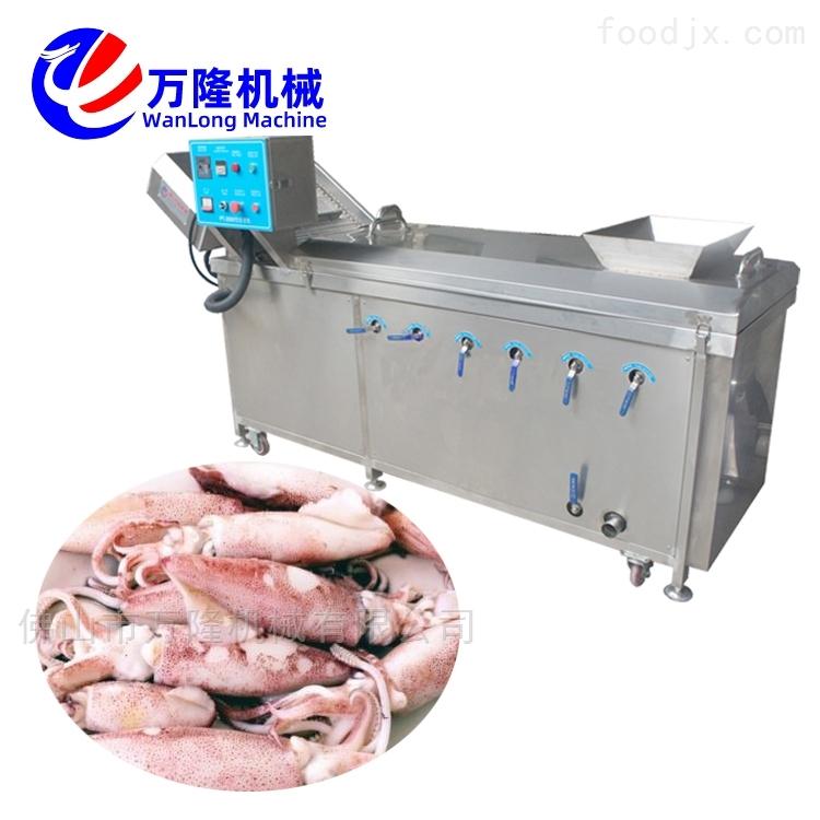 全自动芹菜花菜生菜连续式预煮机设备
