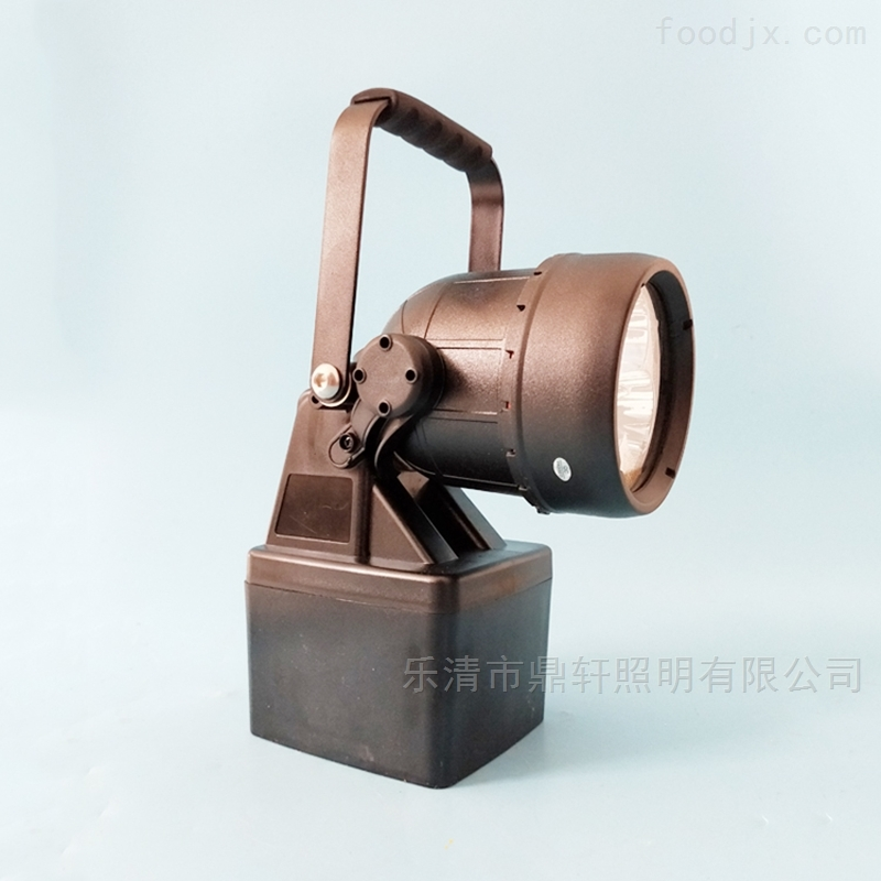 生产厂家9W轻便式多功能磁吸强光灯塑料壳体