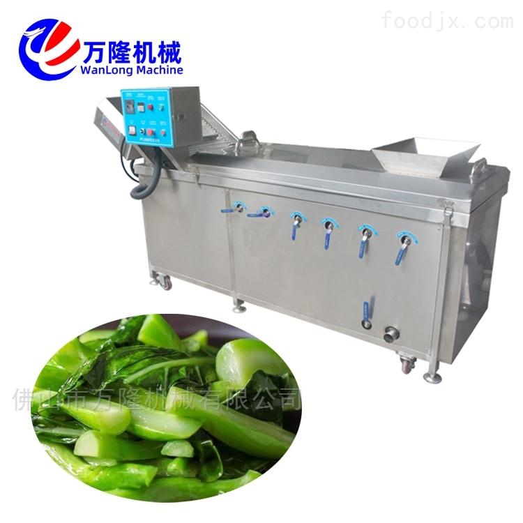 自动化牡蛎龙虾小龙虾连续式高产量漂烫机