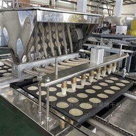 上海合强HQ-DG6008孔蛋糕浇注机蛋糕注浆机全自动蛋糕成型机