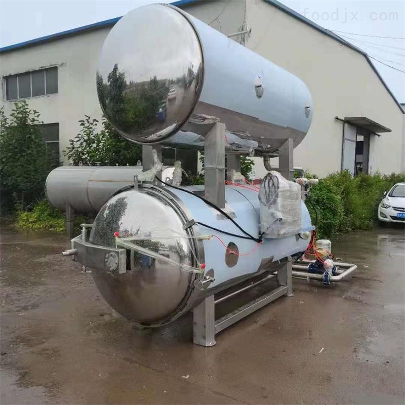 厂家直销全自动蒸汽加热双层水浴式杀菌锅