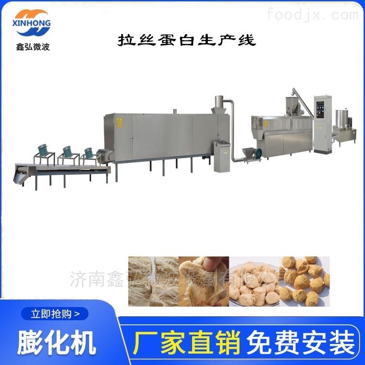 拉丝蛋白膨化食品生产线