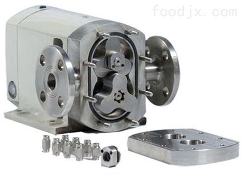 非摩擦式三叶瓣形轮转子泵