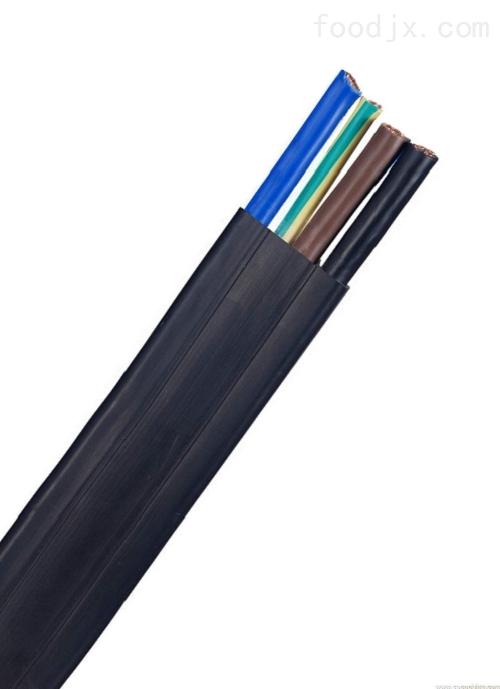 商城县行车扁平电缆YFFRB-3*4