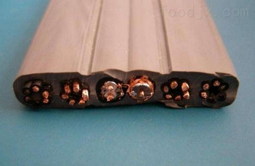 振兴区起重机扁平电缆YVFRB-4*2.5