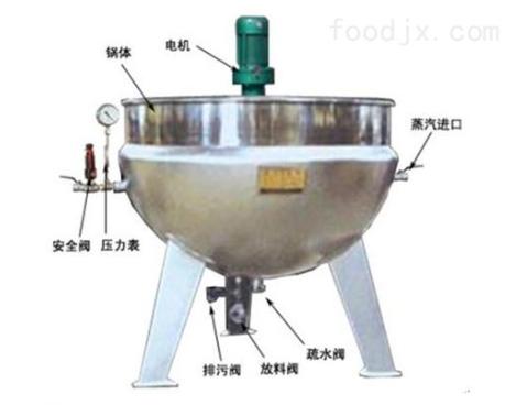多功能液化氣夾層鍋